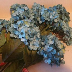 Nine Blue Hydrangea Sprays